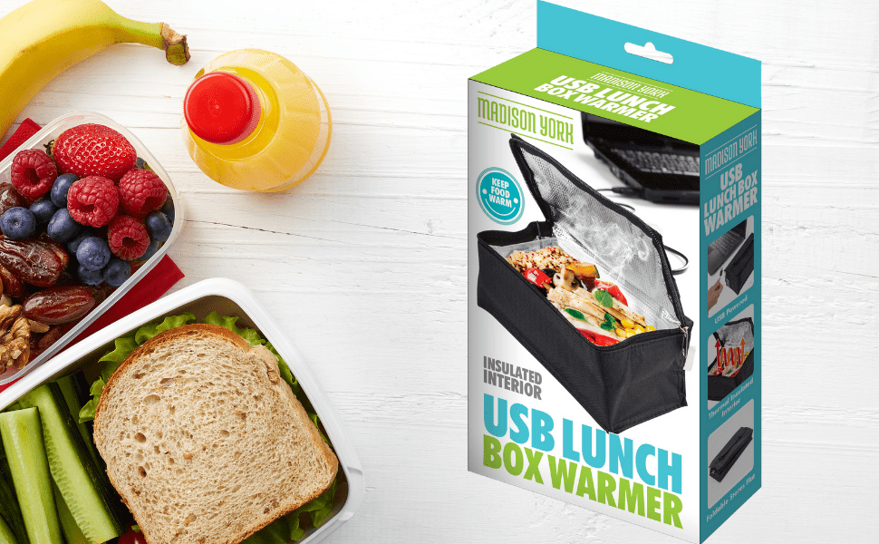 USB Powered Thermal Lunch Box Warmer BAKE & STORE Bento 10