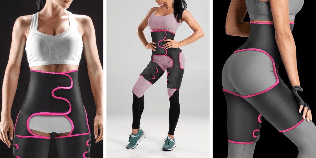 3 in 1 Waist / Thigh Shape-Trainer Best Sellers fitness undergarments 11