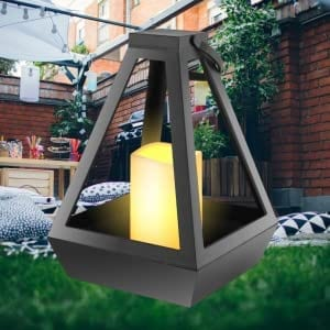 Diamond Lantern with LED LED LIGHTS hanging LED lantern 8