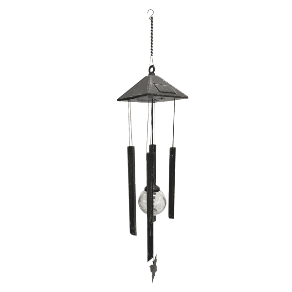 Solar Color-Changing Light & Wind Chime CAMPING wind chime 3