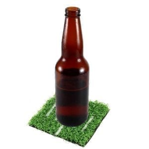 Football Field Coaster Set Drinking Novelties football field coaster set 3