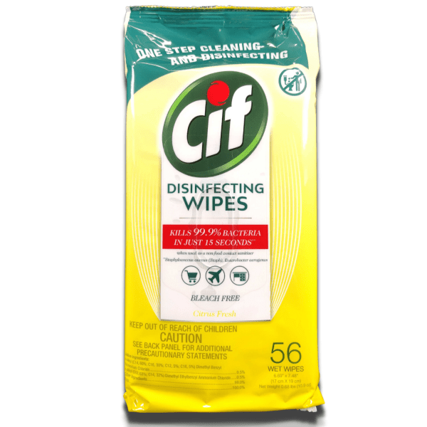 CiF Disinfecting Wipes – Kills 99.9% of Bacteria and Viruses Wipes CiF 3