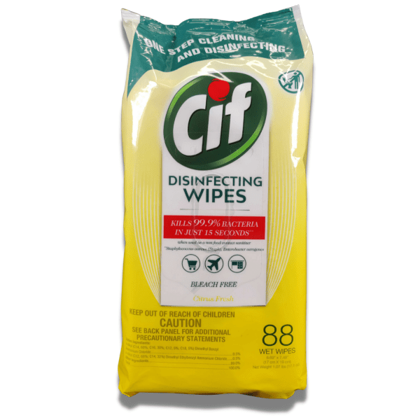 CiF Disinfecting Wipes (88 Count) – Kills 99.9% of Bacteria and Viruses Wipes CiF 3