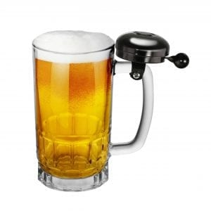 Bell Beer Glass Mug DRINKWARE 20 ounce beer mug 3