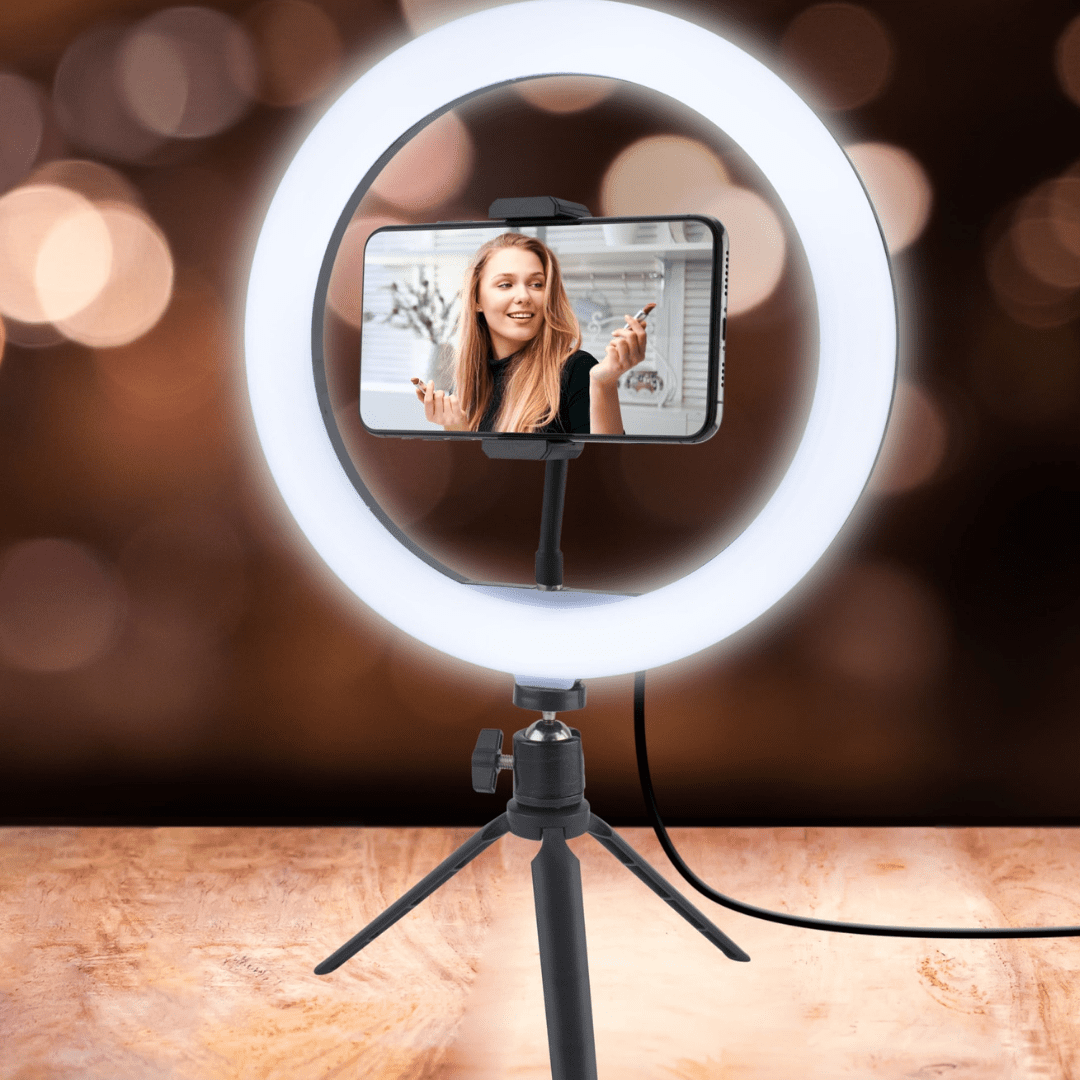 Ring Light with Tripod Stand Gifts bright ring light 17