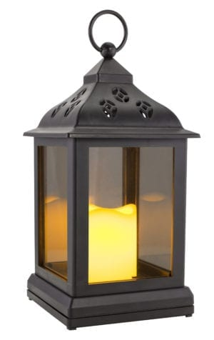 FLICKERING LED LIGHT LANTERN