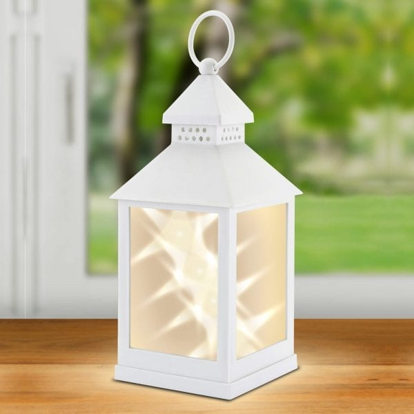 Classic Star White Lantern LIGHTING fine life products outdoor 5