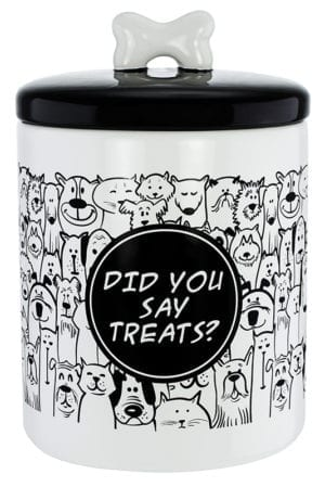 DID YOU SAY TREATS? CANISTER