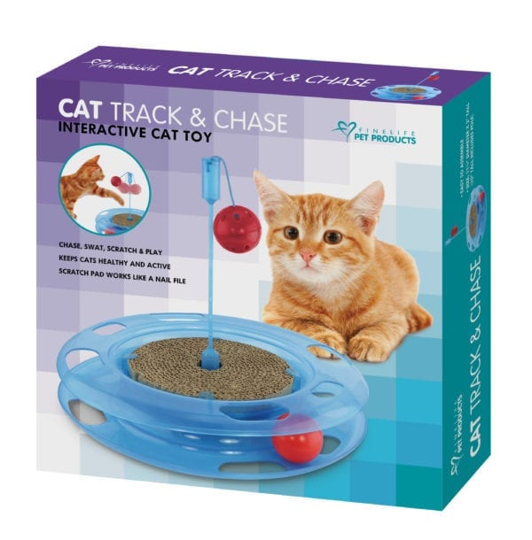 CAT TRACK AND CHASE