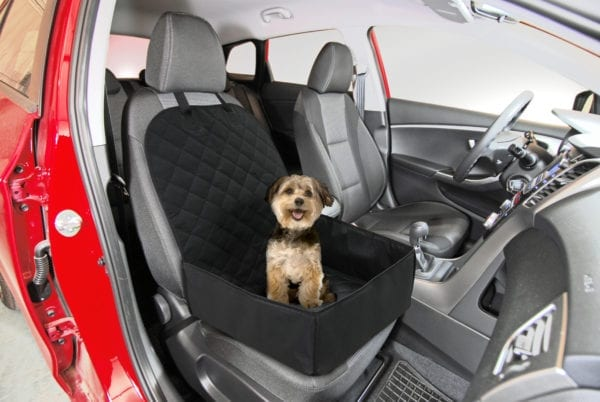 2 IN 1 FRONT SEAT PET COVER