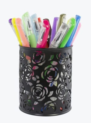18 PC GEL PEN SET WITH HOLDER