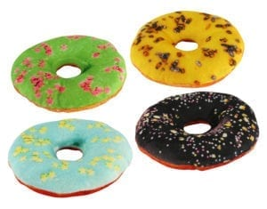 DOG TOY DONUTS