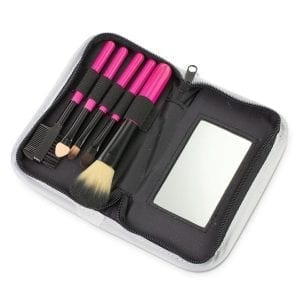 On the Go Makeup Brush Set Beauty makeup brush kit