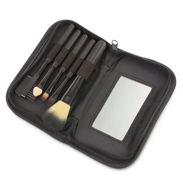 On the Go Makeup Brush Set HEALTH & BEAUTY makeup brush kit 5