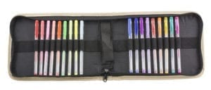 GEL PENS WITH CASE