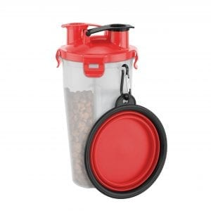 On The Go Pet Water & Food Bottle PET PRODUCTS feed dog on the go 3