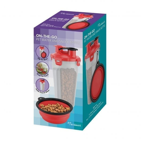 On The Go Pet Water & Food Bottle PET PRODUCTS feed dog on the go 6