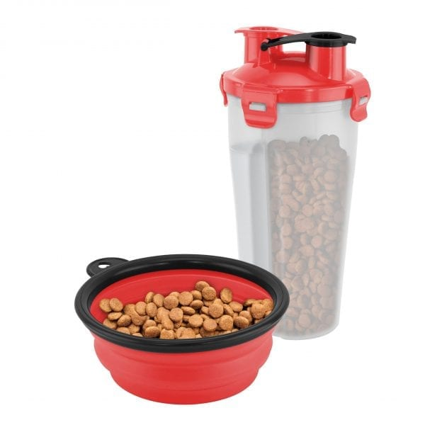 On The Go Pet Water & Food Bottle PET PRODUCTS feed dog on the go 4