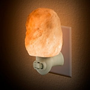 LED Rock Salt Lamp Night Light GIFTS & GADGETS crystal