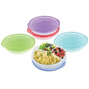 3 Compartments Lunch To Go BAKE & STORE BPA Free