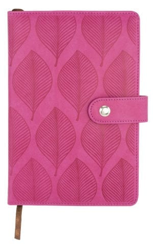 EMBOSSED LEATHERETTE JOURNALS