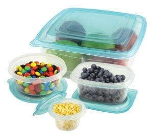 50 PC FOOD STORAGE SET