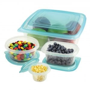 50 Piece Food Container Set BAKE & STORE 50 piece container
