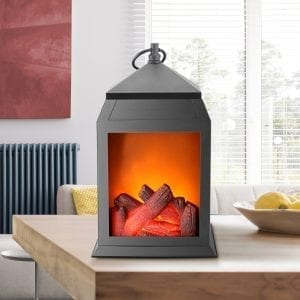 Fireplace Lantern Lanterns black fireplace lantern 3