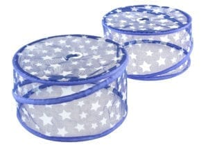 STARS FOOD COVERS SET OF 2