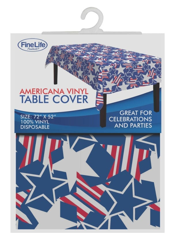 AMERICANA TABLE COVER