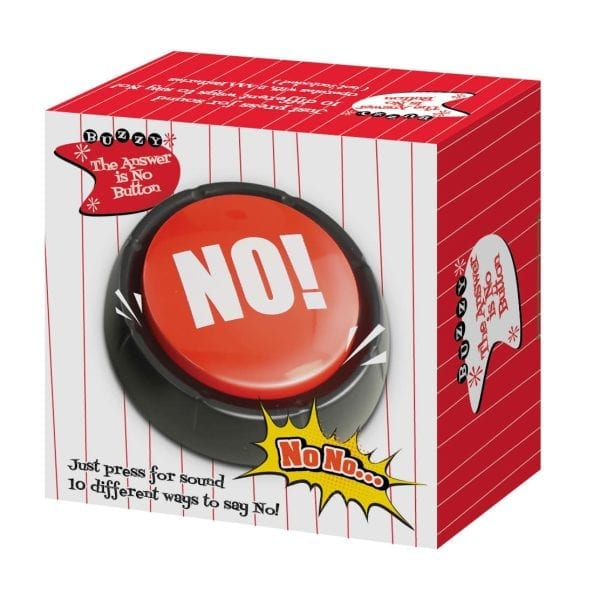 The Answer Is No Button Fidget Toys 4