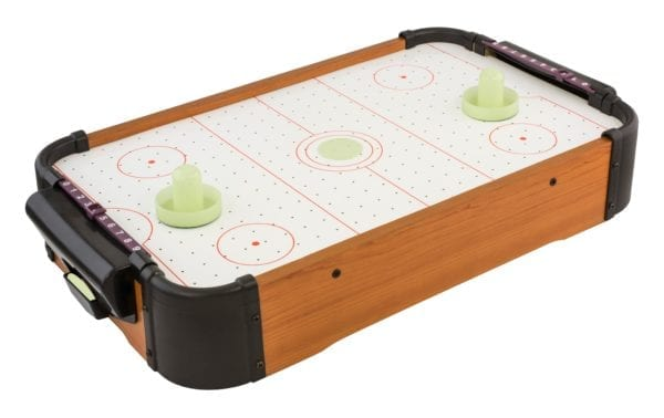 TABLETOP GLOW AIR HOCKEY GAME PRODUCT