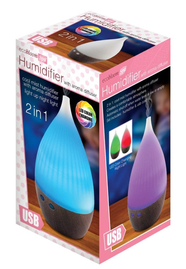 HUMDIFIER WITH AROMA DIFFUSER