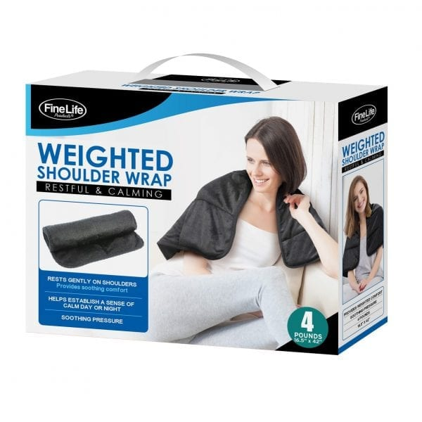 Comfy Weighted Shoulder Wrap BLANKETS 4 pound weight wrap 6