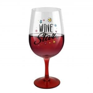Giant Red Wine Glass DRINKWARE giant read wine glass