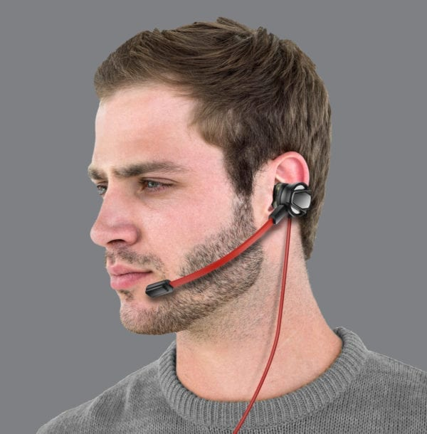 GAMING IN EAR EARBUDS WITH MIC