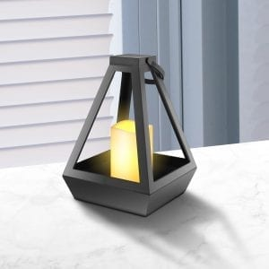 DIAMOND LANTERN WITH LED