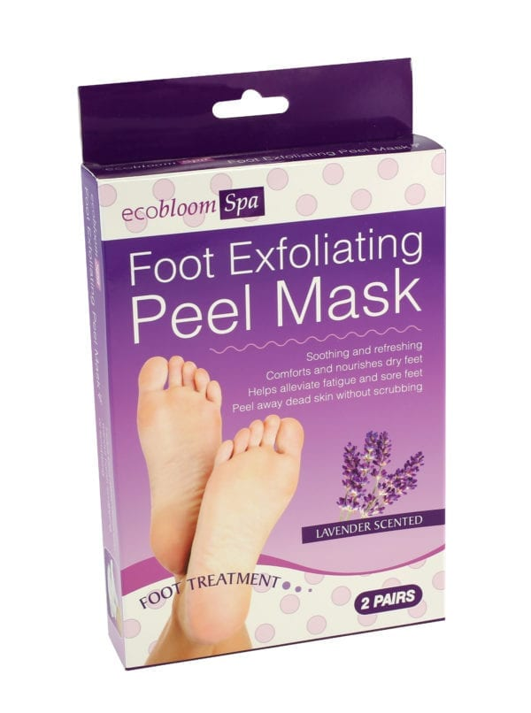 EXFOLIATING FOOT MASK 2 PACK