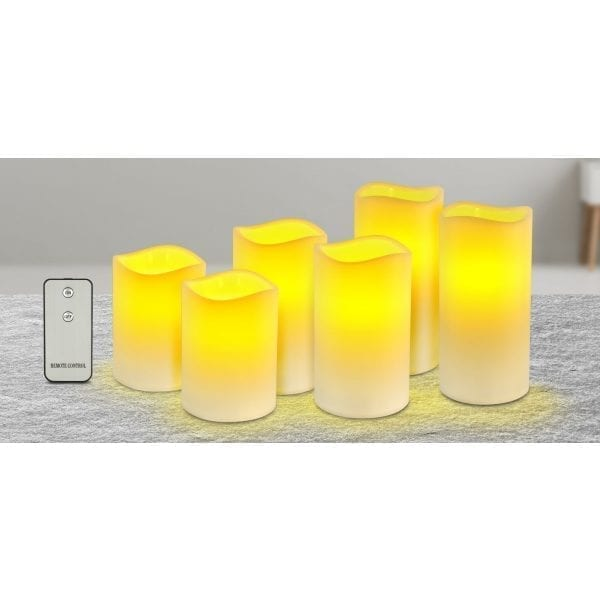 Flameless LED Wax Candles LED LIGHTS brilliant wax candles 4