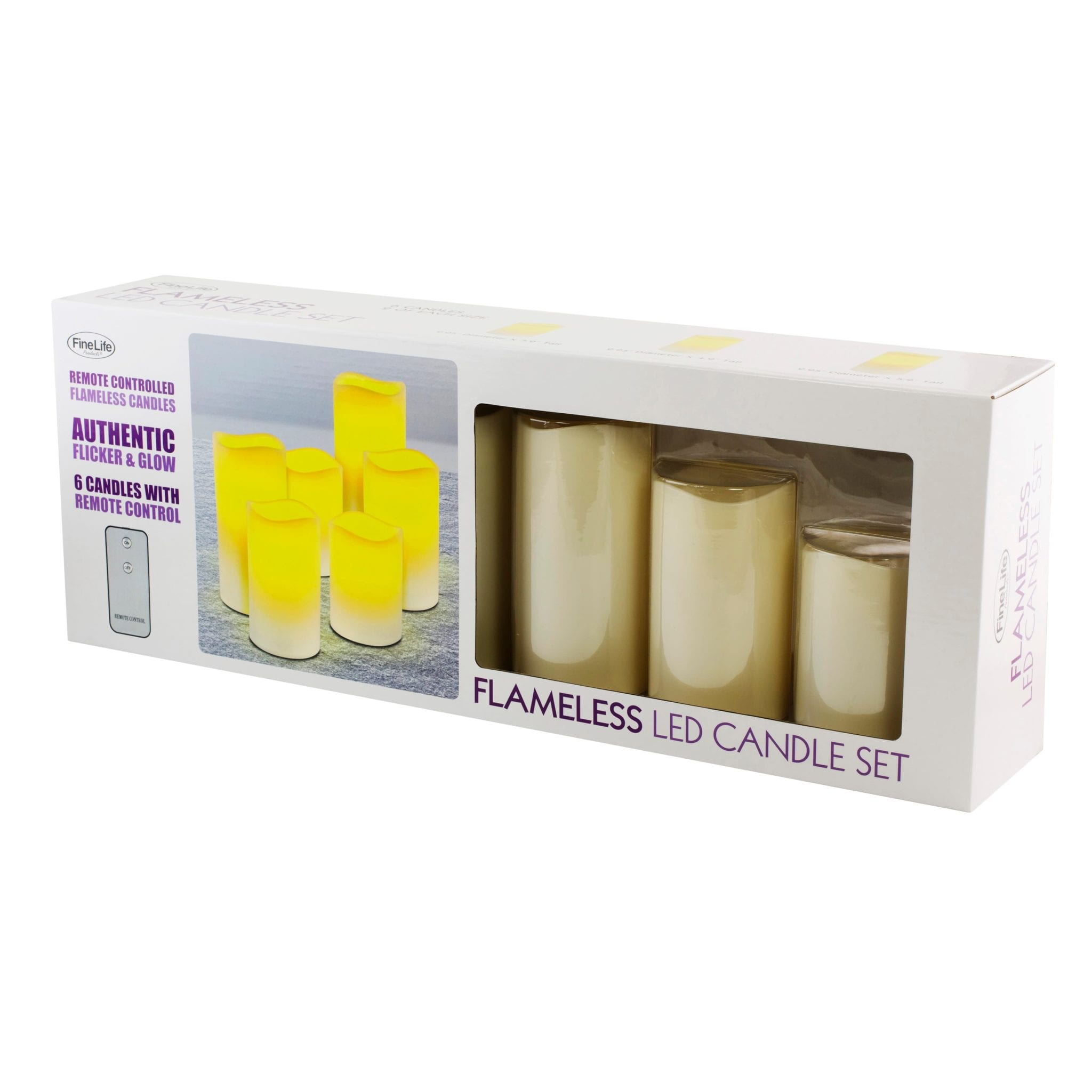 Flameless LED Wax Candles LED LIGHTS brilliant wax candles 7