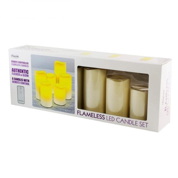 Flameless LED Wax Candles LED LIGHTS brilliant wax candles 5
