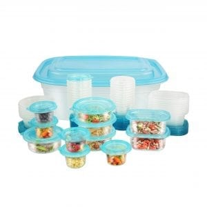 100 Piece Container Set BAKE & STORE BPA Free 3