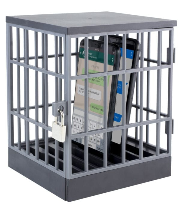 PHONE LOCK UP CAGE