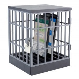Phone Lock Up Cage Fidget Toys family phone 3