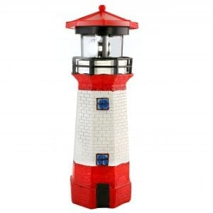 Solar Garden Lighthouse OUTDOOR FUN fine life products garden lighthouse