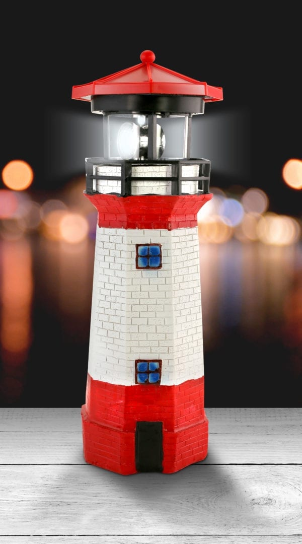 SOLAR GARDEN LIGHTHOUSE