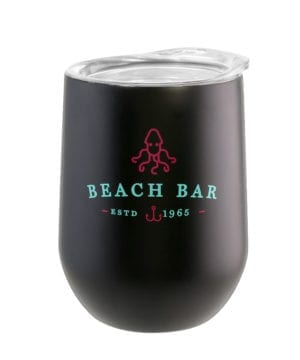 BEACH BAR SS WINE TUMBLER