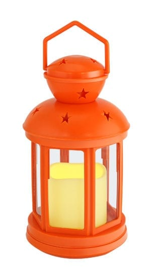 CANDLE LANTERN WITH CANDLE