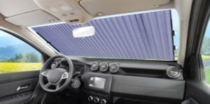 Retractable Sun Shade Car 1