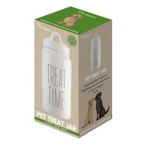 Artisan Pet Treat Time Jar PET PRODUCTS Artisan Pet Treat Time Jar 4